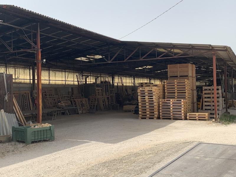 gabbie e imballaggi in legno